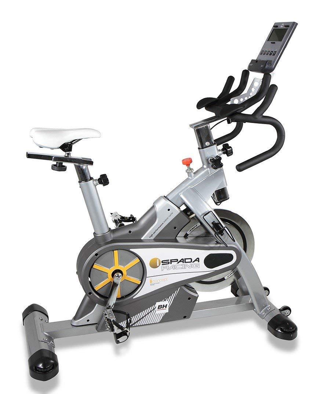 BH Fitness - Bicicleta Indoor i.spada Racing Dual + Dual Kit ...