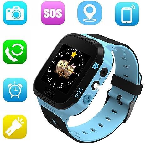 Amazon.com: Jsbaby - Reloj inteligente GPS para niños de 1 ...