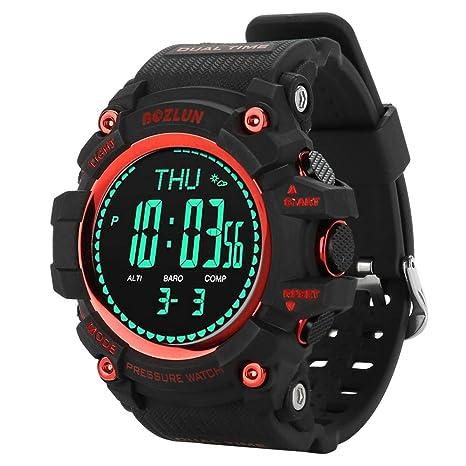 Vbestlife Reloj Inteligente de Escalada Pulsera Deportivo Impermeable para Aventura con GPS Incorporado Tiene la Función