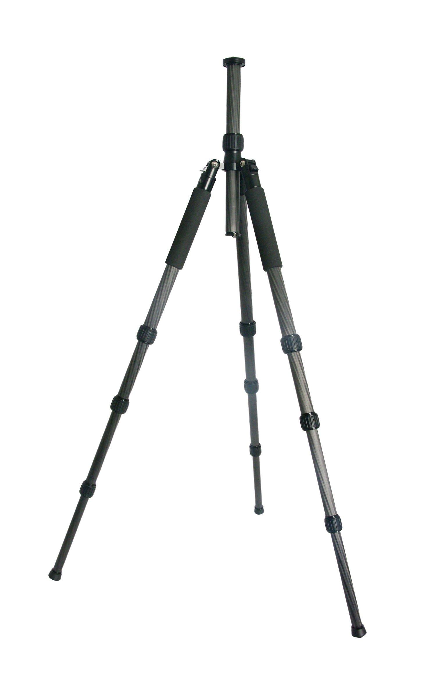 TERRA FIRMA TRIPODS T-CF450 Carbon Fiber 4 Section Tripod Leg Set, Black by TERRA FIRMA TRIPODS (Image #15)
