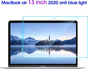 2 PCS Lapogy MacBook Air 13 Inch Anti Blue Light Screen Protector,Fit 2020 2019 2018 New Version A1932, A2179 Anti Glare and Protector Eye,MacBook Air 13 Inch Accessories