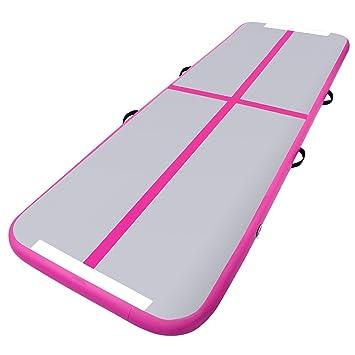 Amazon.com: pagacat alfombrilla hinchable de gimnasia equipo ...
