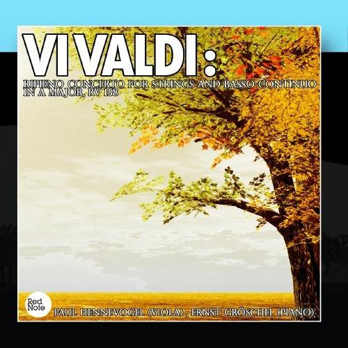 Price comparison product image Vivaldi: Ripieno Concerto for Strings and Basso Continuo in A major,  RV 158