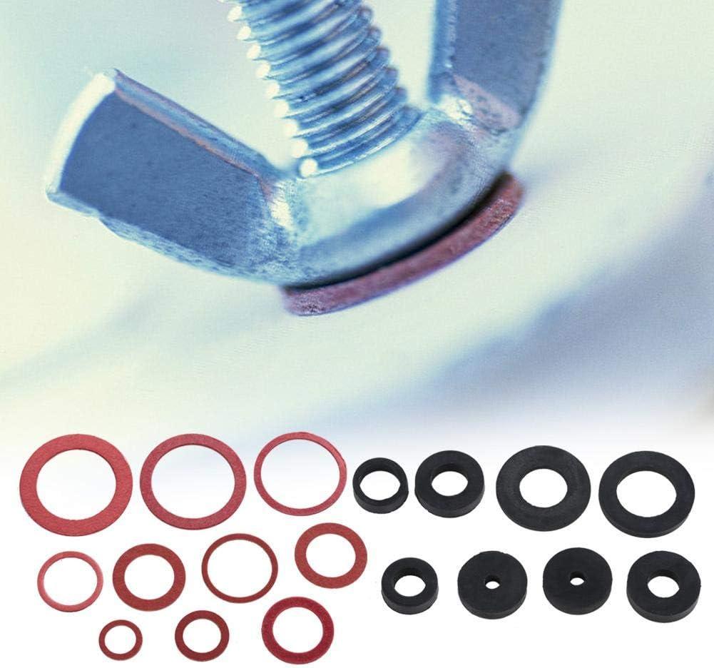 141pcs NBR/Joint torique de joint d/étanch/éit/é de robinet Assortiment de rondelles en caoutchouc