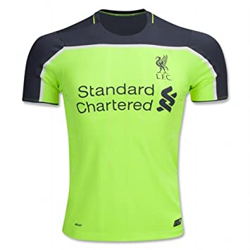 f2f2c412258 Liverpool FC Name And Number DIY The Third Away Football Soccer Jersey New  Season Sportwear Kit 2016 2017 In Green: Amazon.co.uk: Sports & Outdoors