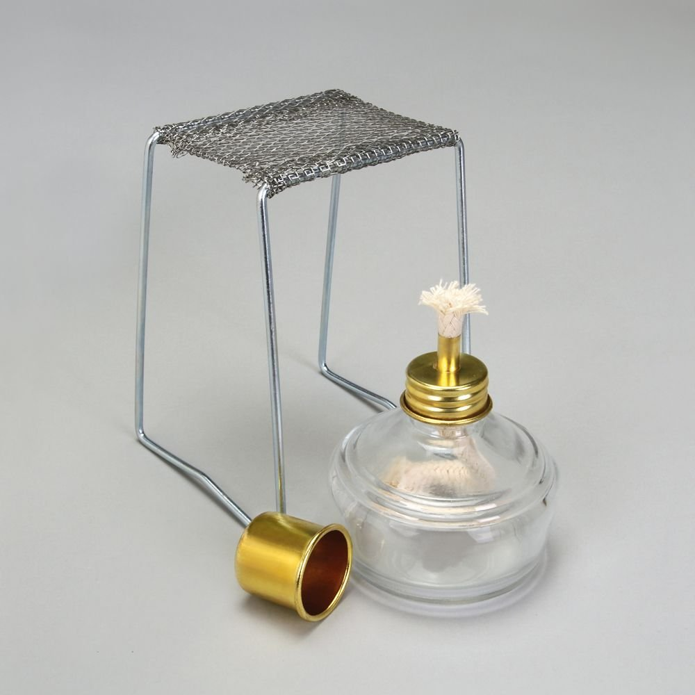 Alcohol Burner with Stand