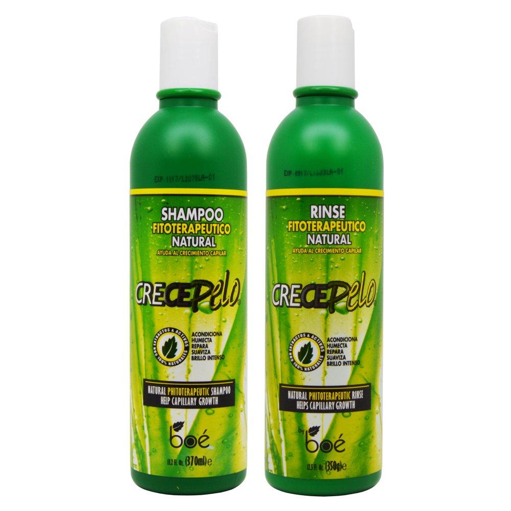 Boe CrecePelo Natural Fitoterapeutico Shampoo 12oz & Natural ...