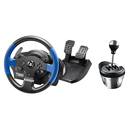 Amazon com: Thrustmaster T150 RS Racing Wheel and TH8A Add