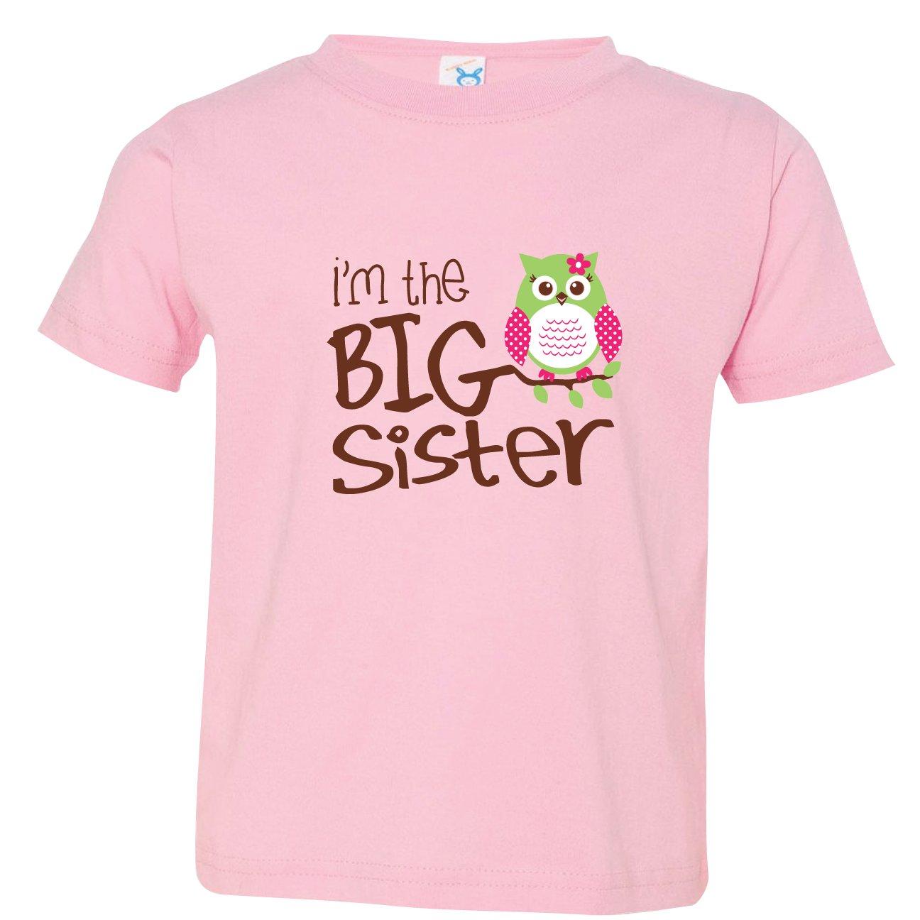 Nursery Decals and More SHIRT ベビーガールズ 3 Owl, I'm the Big Sister B00VKQPKPI