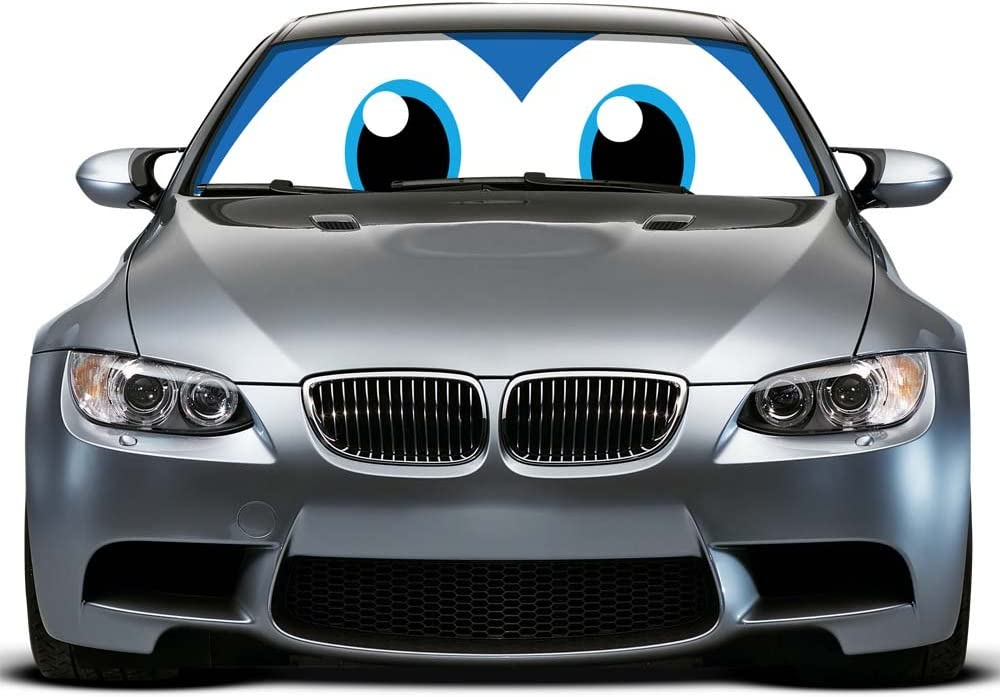 Hot Cartoon Pixar Cars Cute Front Car Windshield Sun Shade Sunvisor Shade Sails