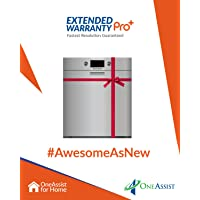 OneAssist 1 Year Extended Warranty Pro Plus plan for Dishwashers Between Rs. 5,000 - Rs. 30,000