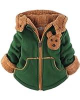Yan's Baby Winter Coat Jacket Thick Wool Inside Kids Warm Winter Top