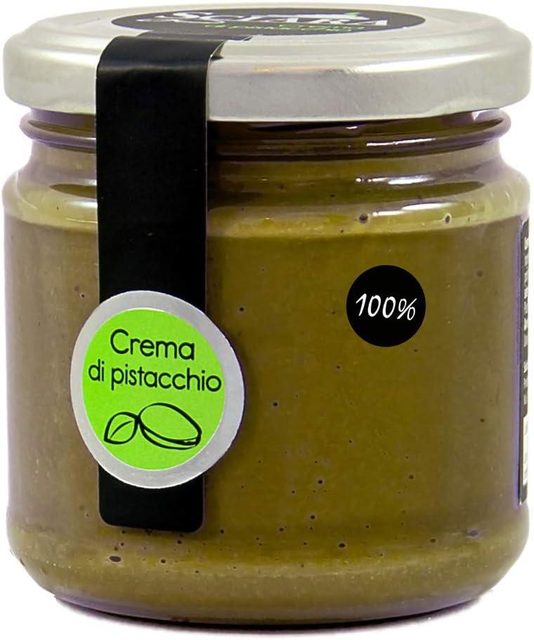 Sciara - crema 100% pistacchio. crema di pistacchio al naturale e genuina. senza zucchero, senza lattosio