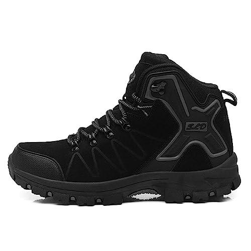 H Mastery Botas Trekking Hombre Mujer Impermeables Zapatillas de Senderismo Zapatos de Montaña Invierno