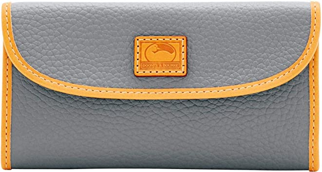 NWT Dooney /& Bourke Collection Grey Continental Clutch Wallet