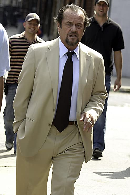 Jack Nicholson on the set of The Departed in Greenpoint Brooklyn Photo Print 24 x 30