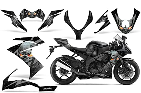 Amazon.com: CreatorX Kawasaki Zx10 Ninja Graphics Kit Decals ...