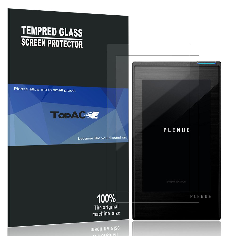 Cowon P1 Screen Protector, TopACE 3-Pack Ultra-Clear Premium Film for Cowon Plenue 1 (3-Pack)