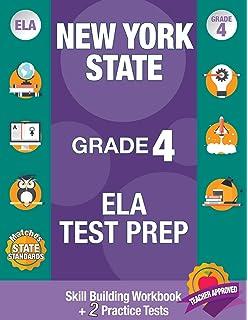 Amazon com: NEW YORK TEST PREP Common Core ELA Practice Workbook