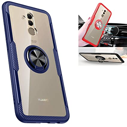 Amazon.com: Huawei Mate 20 lite case,360° Rotating Ring ...