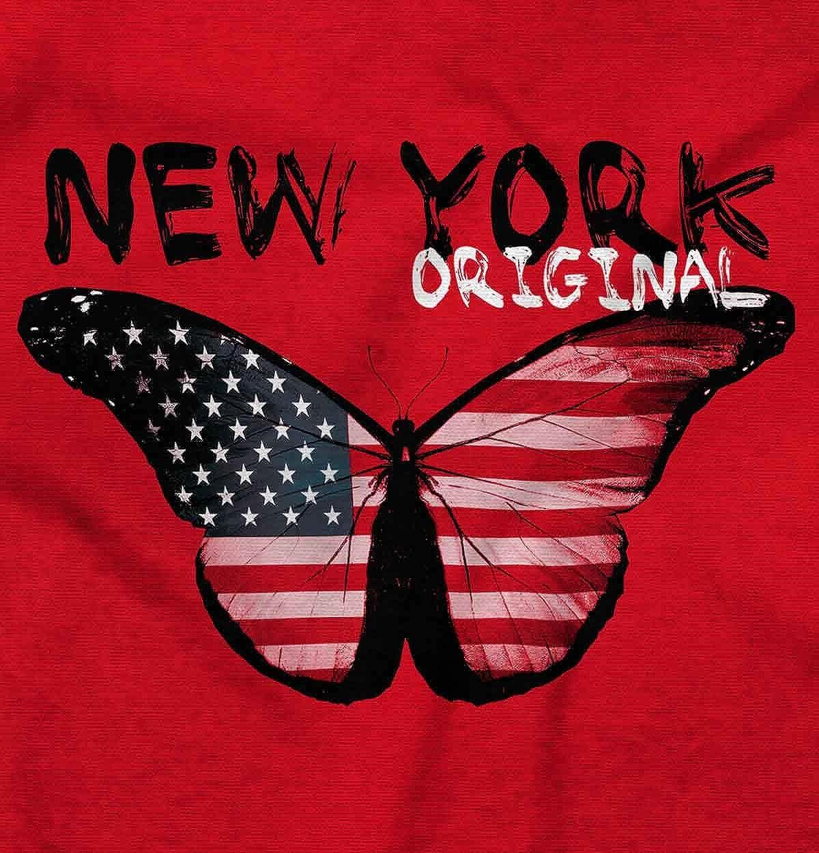 New York Original Cute Patriotic Butterfly Hoodie