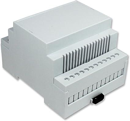 CAMDENBOSS CNMB 4 V/KIT cerramiento aireable M4 KIT[1] carril DIN ...