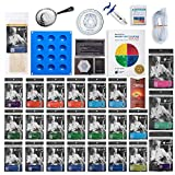 ULTIMATE Molecular Gastronomy ''Made Easy'' Starter Kit + Bonus 300 Recipe CD ⊘ Non-GMO ❤ Gluten-Free ✡ OU Kosher Certified Ingredients