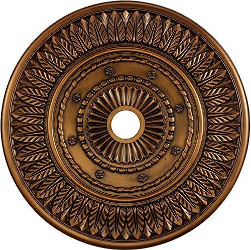 ELK M1013AB, Corinna Chandelier Accessory Ceiling Medallion, Antique Bronze by Elk ()