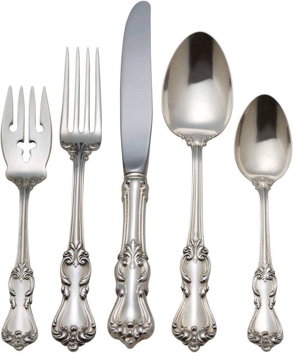 """Reed /& Barton Marlborough 7-1//4/"""" Dinner Fork Sterling Old Marks No Monogram"""