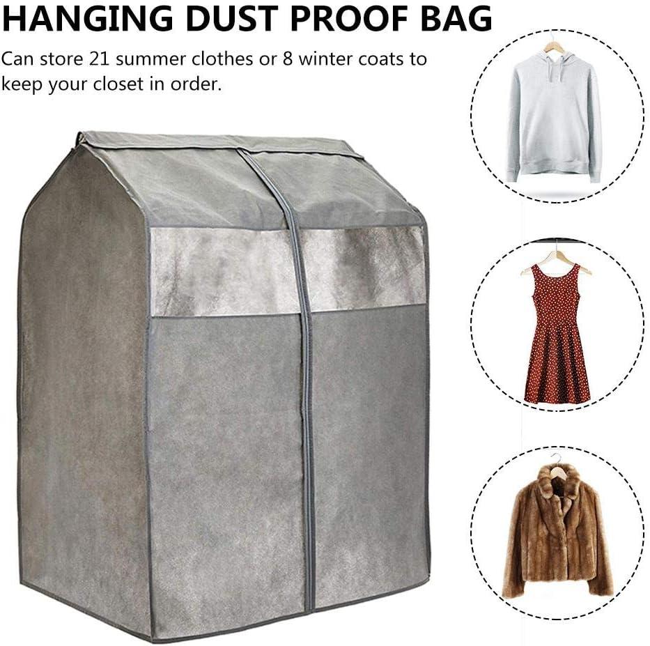 Quitd Housse de Rangement en Tissu Non tiss/é r/ésistant /à la poussi/ère pour v/êtements de Costume Manteaux Vestes Robes placards