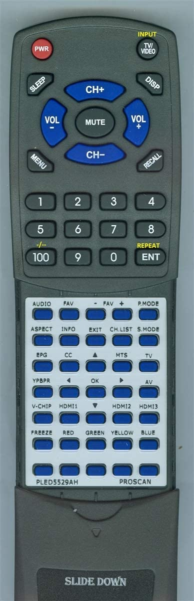 PLED5529A-H Replacement Remote for PROSCAN PLED5529AH