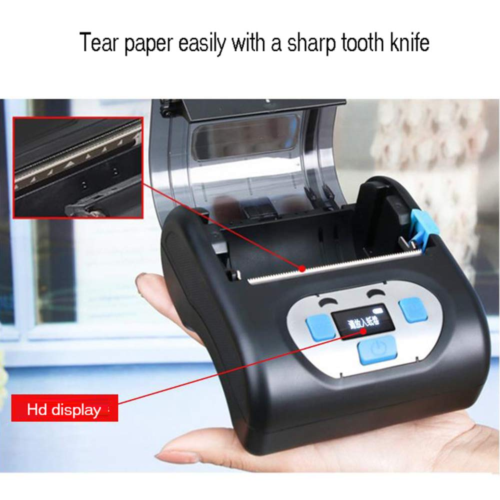 BAIYI Portable Bluetooth Label Printer Waterproof Drop-Proof One-Button Printing Express Label Printer by BAIYI (Image #3)