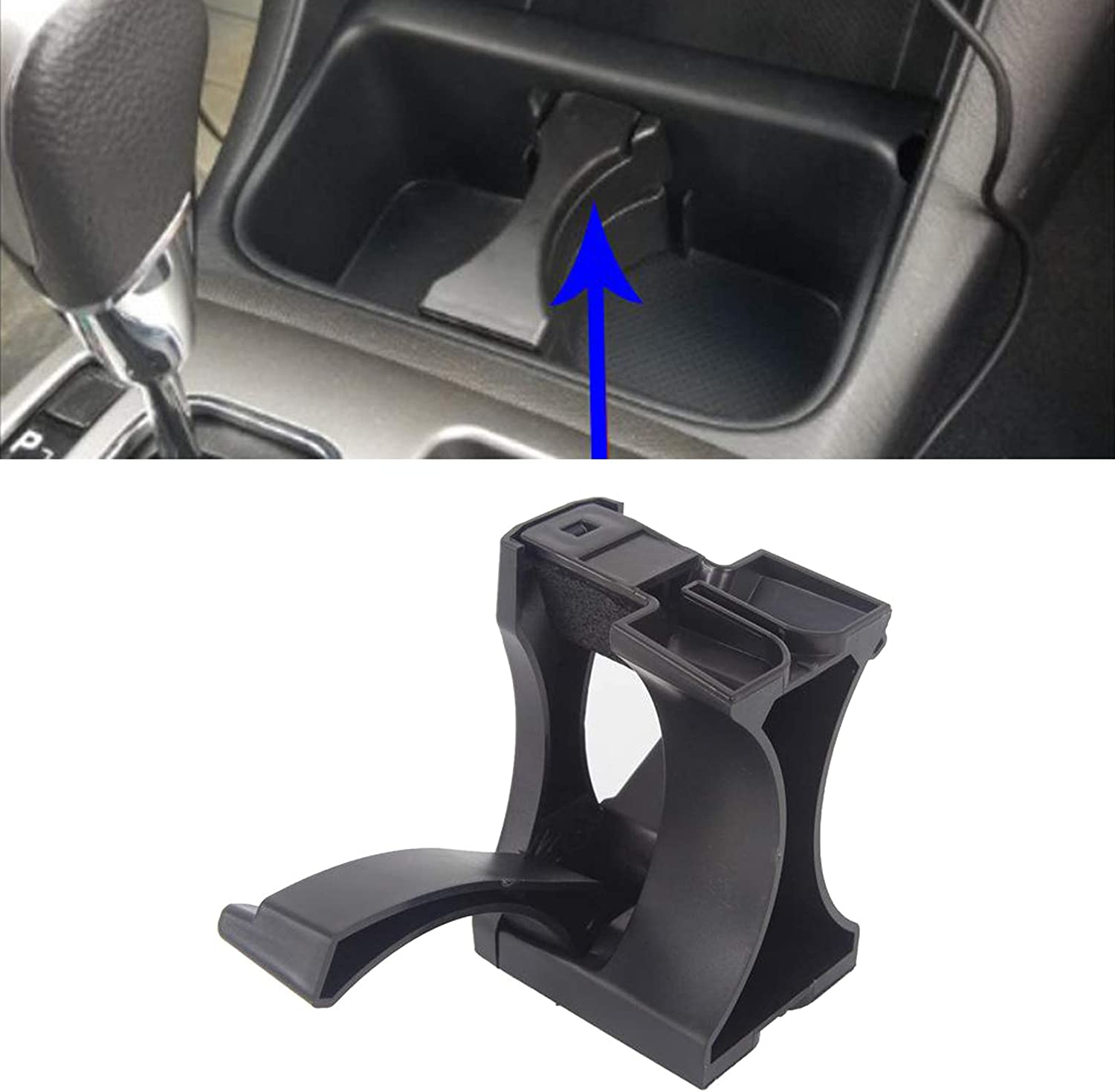 balikha Car Cup Holder Insert Divider Fits for Toyota Tacoma Sequoia