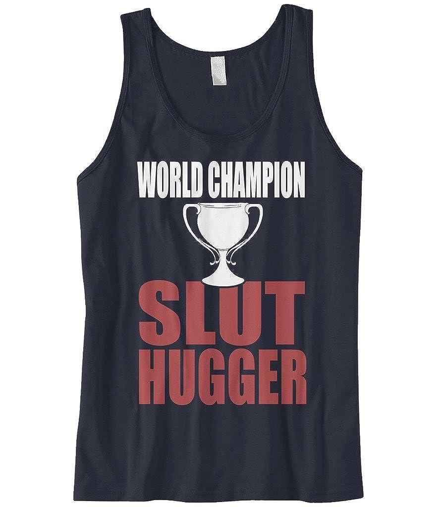 Cybertela Mens World Champion Slut Hugger Tank Top