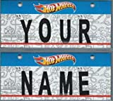 hot wheels license plate - Hot Wheels Vanity Plate