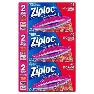 Ziploc Storage Bags, 144 Count