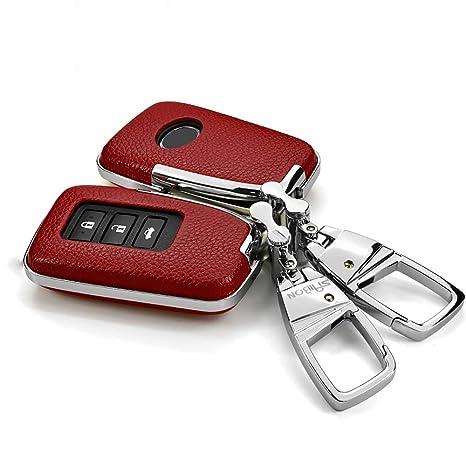Amazon.com: Ontto - Funda de piel para llave de Lexus RX GS ...