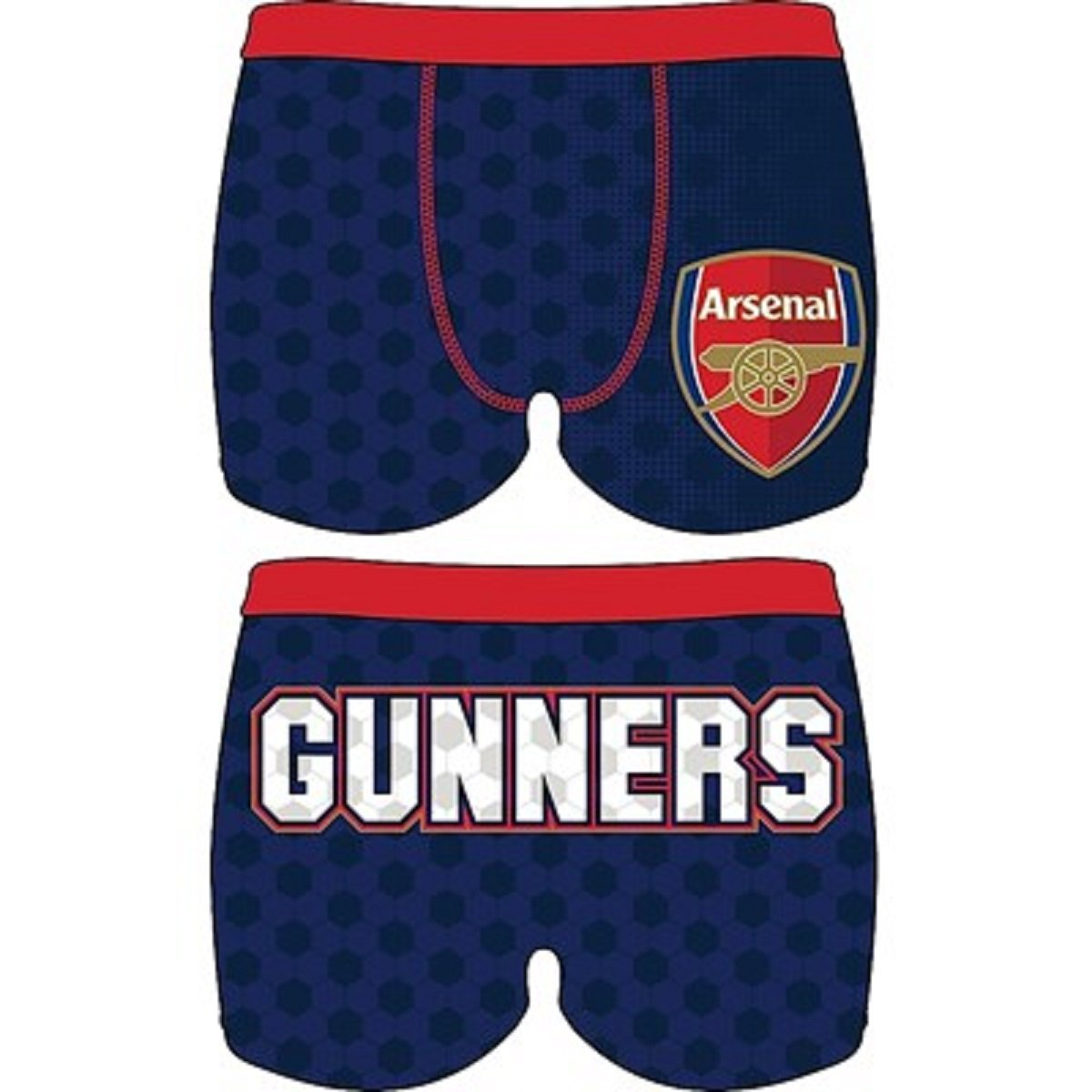 Boys Arsenal FC 1 Pack Trunk Boxer Shorts 7-8 5-6 Size 4-5 9-10 /& 11-12 Years