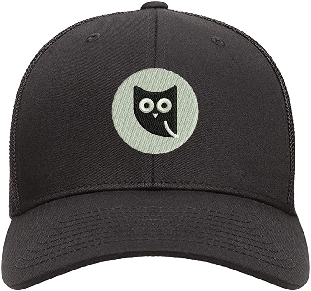 N-A Black Trucker Hats Embroidered Cap Embroidery Snapback Hat WOL