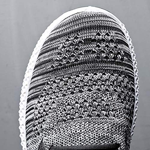 Haforever Men's Slip on Mesh Sneakers Lightweight Breathable Athletic Running Walking Shoes