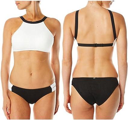 MEGA Damen Sexy Bikini Unterleib Doppelte Dicke Weiße