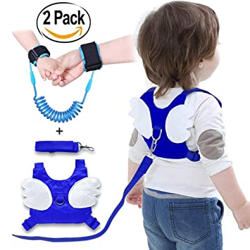 Baby Kid Toddler Safety Anti-lost Harness Walking Leash Strap Cartoon Backpack C