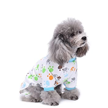 Dog Pajamas With Feet Dress The Dog Clothes For Your Pets