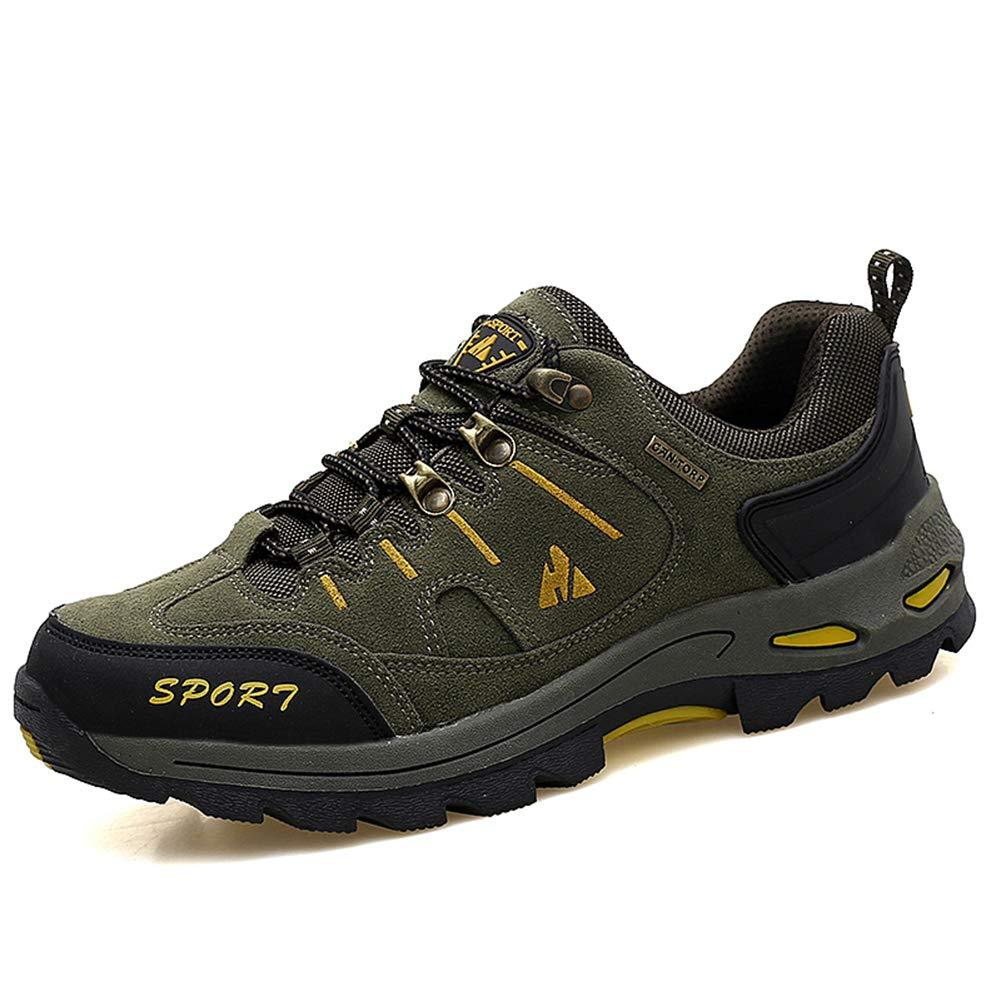 Zapatos de Deporte Trekking Hombre Caminar Transpirable Zapatillas de Senderismo Escalada