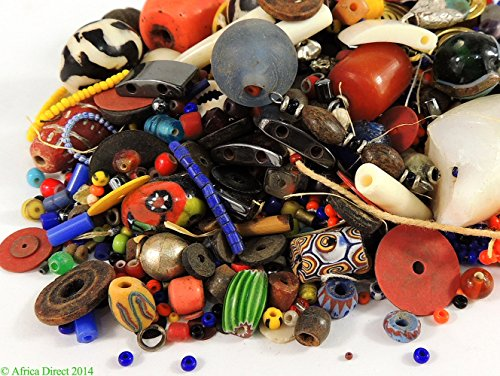 Millefiori Trade Beads (Trade Beads Grab Bag 4 Oz. Africa)