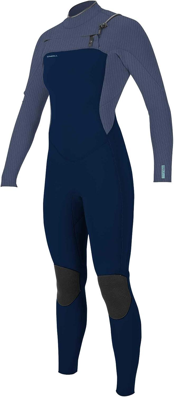 ONEILL Womens Hyperfreak 4//3Mm Chest Zip Full Wetsuit