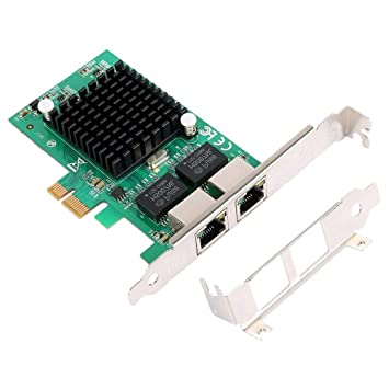 SODIAL Tarjeta Controladora de Red Gigabit Ethernet Pci-E 10/100 ...
