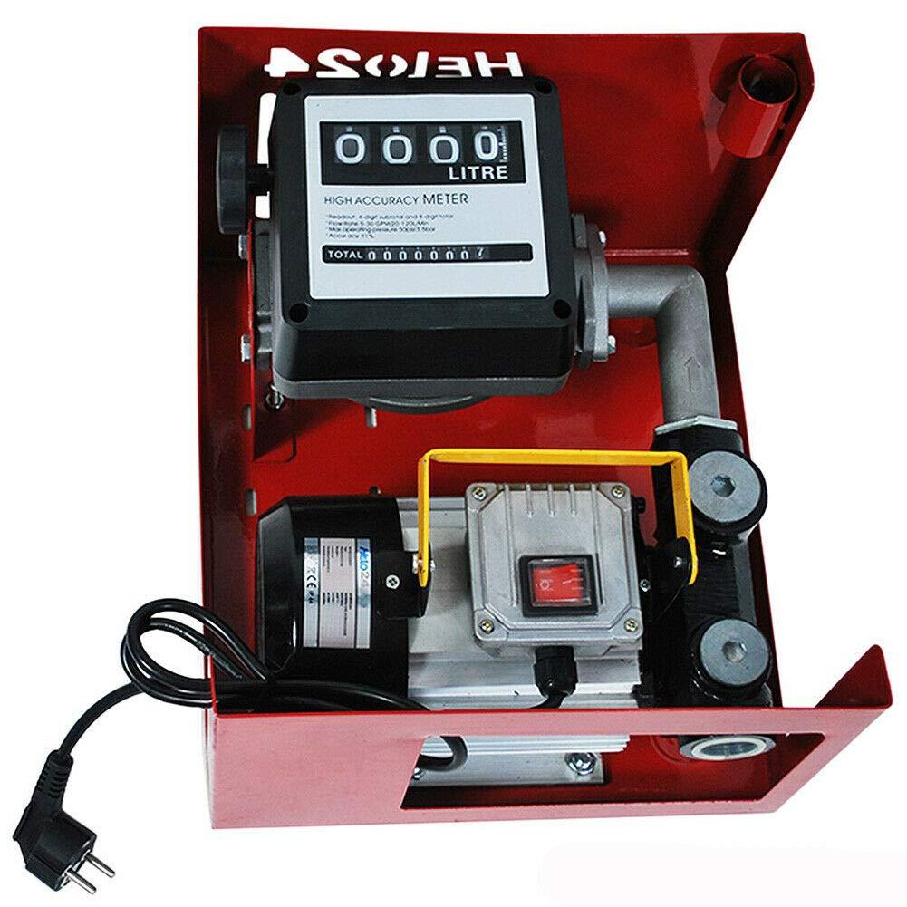DP60L Diesel Pump Self-priming Fuel Oil Pump Bio Diesel Pump Oil Pump Petrol Station Fuel Pump 550 W 60 L//min