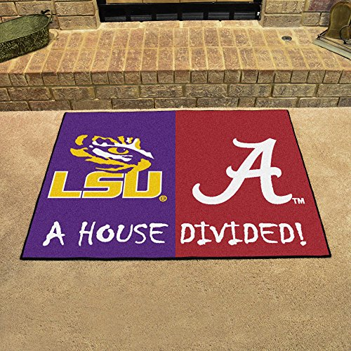 Fan Mats 17150 LSU - Louisiana State Tigers vs Alabama Crimson Tide 33.75