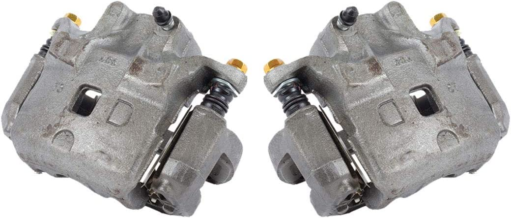 FRONT Premium Grade OE Semi-Loaded Caliper Assembly Pair Set 2 CCK11191